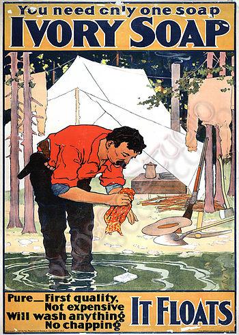 1898 advertising poster