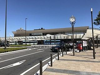 Iwakuni Station Railway station in Iwakuni, Yamaguchi Prefecture, Japan
