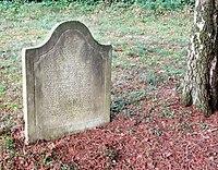 Jüdischer Friedhof Schwelm - Grabstein Anschel Jakob.jpg