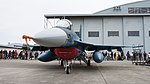 JASDF F-2A(43-8527) left front view at Komaki Air Base March 13, 2016 02.jpg