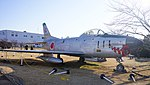 JASDF F-86D(84-8111) right front view at Komaki Air Base February 23, 2014.jpg