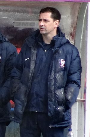 Jackie McNamara - McNamara with York City in 2016