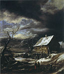 Jacob van Ruisdael - Winter Landscape - Bader collection.jpg