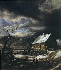 Jacob van Ruisdael - Winter Landscape - Bader collection.jpg