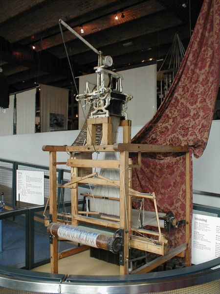 File:Jacquard loom, 2 of 6.jpg - Wikimedia Commons