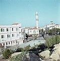 Jaffa minaret van de Mahmoedijamoskee met omliggende gebouwen, Bestanddeelnr 255-9229.jpg