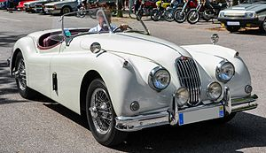 Jaguar XK140 - XK140 open two-seater or roadster 1954