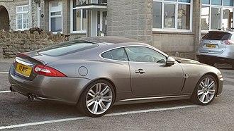 Jaguar XK (X150) - rear view