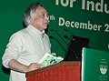 Jairam Ramesh addressing at the inauguration of the workshop on 'Comprehensive Environmental Pollution Index (CEPI) for Industrial Clusters', in New Delhi on December 24, 2009.jpg
