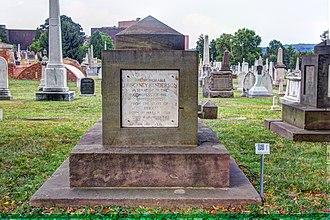 James Pinckney Henderson - Henderson's cenotaph at the Congressional Cemetery in Washington D.C.