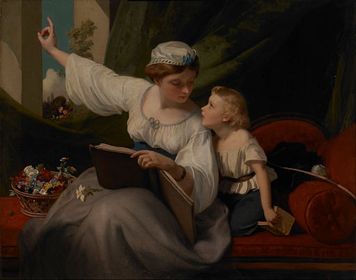 James Sant - The Fairy Tale - Google Art Project