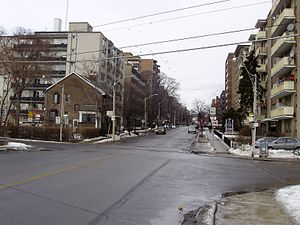 Jameson Avenue - Jameson Avenue in 2009, looking north from just south of Springhurst
