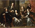 Jan Anthonie Cocie - Family portrait of Simon and Anne van Haecht with their sons and daughter.jpeg