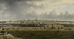 Jan Baptist Bonnecroy - View of Antwerp Port