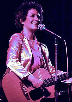 Janis Ian - Ian performing in concert, 1981