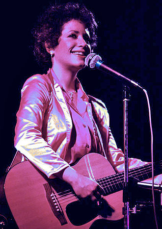 Janis Ian - Ian performing in concert, 1981