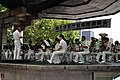Japan Coast Guard Band at Hibiya Park on July 2009.jpg