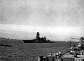 Japanese battleship Nagato seen from USS Massachusetts (BB-59) 1945.jpg