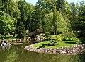 Japanese garden Wroclaw arch bridge.jpg