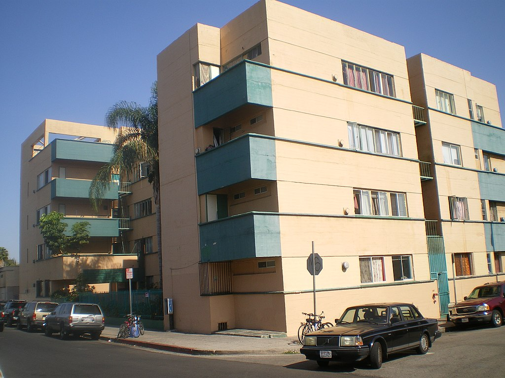 File Jardinette Apartments Los Angeles Jpg Wikimedia Commons