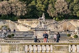 Jardins de la Fontaine in Nimes 13.jpg