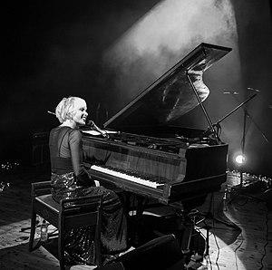Jazz Morley performing at Shelley Theatre 2017.jpg