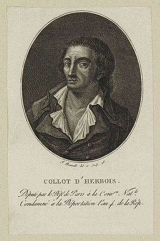 Jean-Marie Collot d'Herbois - Image: Jean Marie Collot d'Herbois