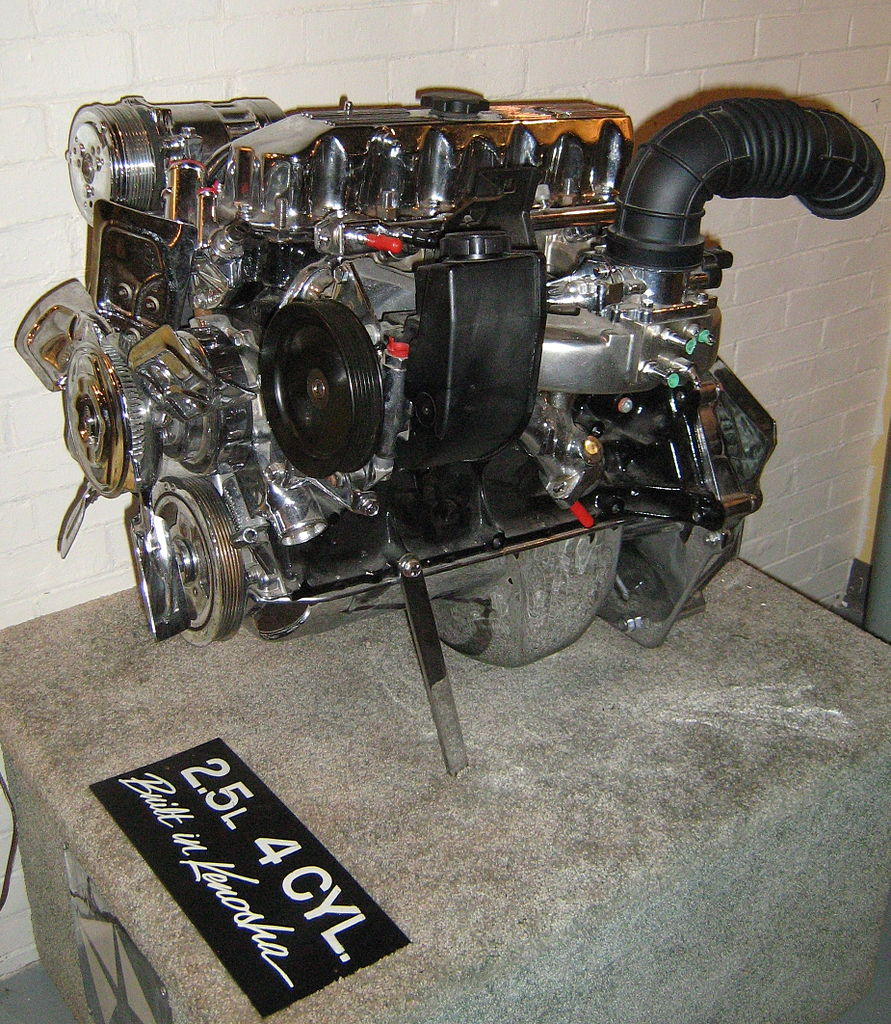 File Jeep 2 5 Liter 4 Cylinder Engine Chromed A Jpg