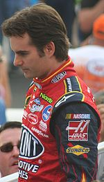 Jeff Gordon en aout 2007