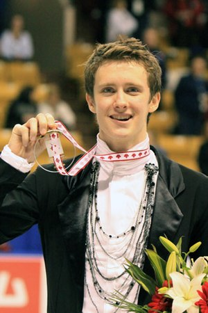 Jeremy Abbott - Abbott at the 2009 Skate Canada