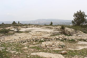 Bethel - Ruins of Jeroboam's temple in Bethel