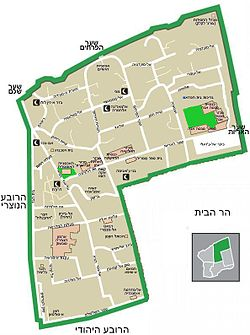 Jerusalem Muslim Quarter map-HE.jpg
