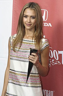 Jessica Alba nel 2007