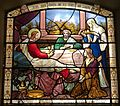 Jesus, Mary, Martha and Lazarus, St Botolph without Aldersgate.jpg