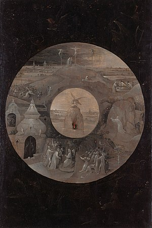 St. John the Evangelist on Patmos - Image: Jheronimus Bosch Scenes from the Passion (full)