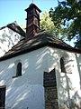 Jihlava, Kostel svatého Jana Křtitele věž.JPG