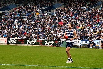 Jimmy Bartel - Bartel in Round 19 of the 2011 AFL season