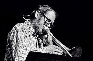 Jimmy Knepper American jazz trombonist