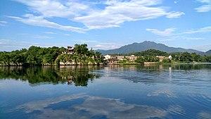 Qingyi River - Qingyi River in Taohuatan