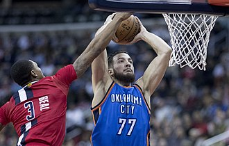 Joffrey Lauvergne - Lauvergne with the Thunder in 2017