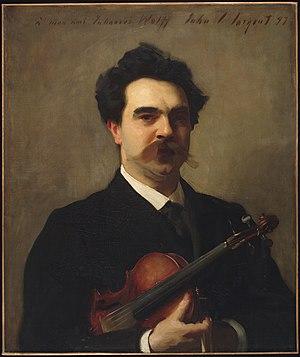 Johannes Wolf (musicologist) - Johannes Wolff, John Singer Sargent, 1897