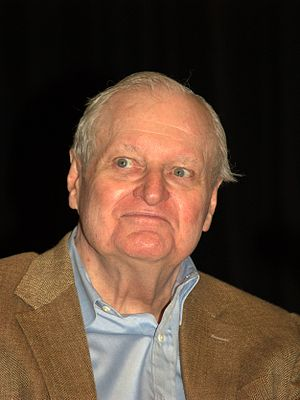 John Ashbery at the 2010 Brooklyn Book Festival.