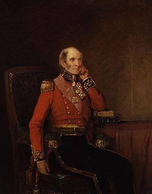 John Byng, 1st Earl of Strafford - Portrait of John Byng by William Salter, 1834–1840