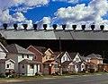 John Sanderson, Steel Miill and Houses, Lackawanna, New York, 2009.jpg
