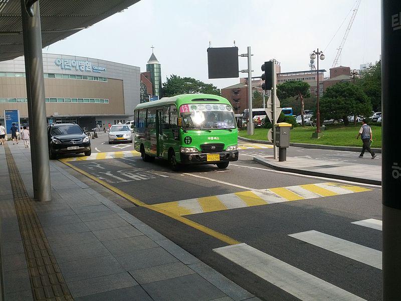 Como são os ônibus em Seul
