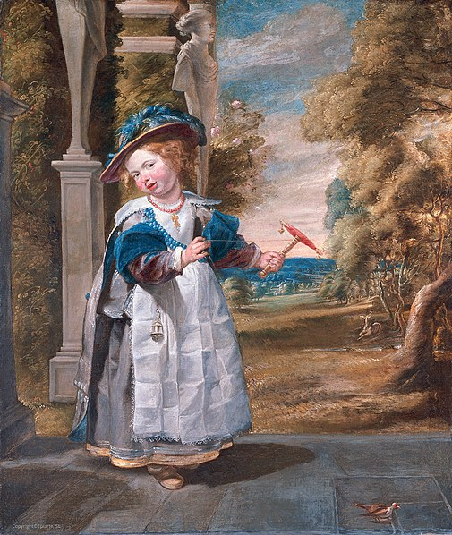 ไฟล์:Jordaens Portrait of the Painters Daughter Anna Catharina.jpg