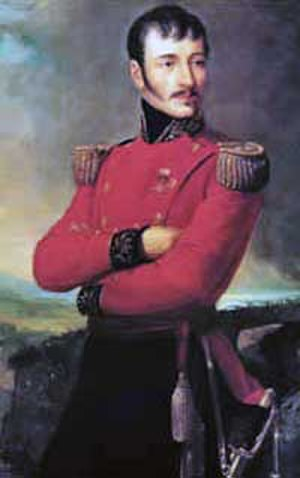 José Antonio Anzoátegui - José Antonio Anzoátegui.  Portrait by Martín Tovar y Tovar