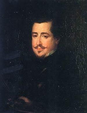 José Gutiérrez de la Vega - Self-portrait (1847)