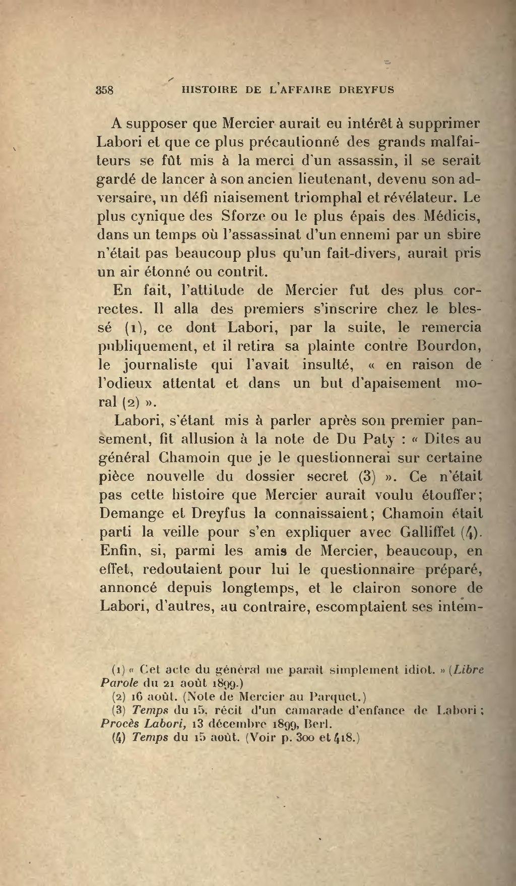 Pagejoseph Reinach Histoire De Laffaire Dreyfus Eugène