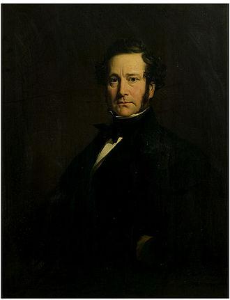 Joshua Walmsley - Sir Joshua Walmsley, portrait about 1843 by William Daniel.